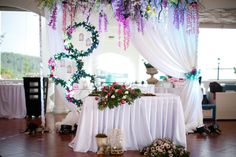 Our Bridal Table-midsummer night's dream inspired wedding