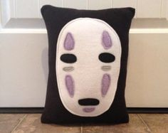 No Face, pillow, plush, cushion