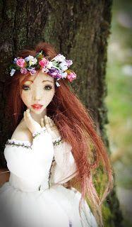 Kissed by the sun. Handmade OOAK doll by Romantic Wonders
