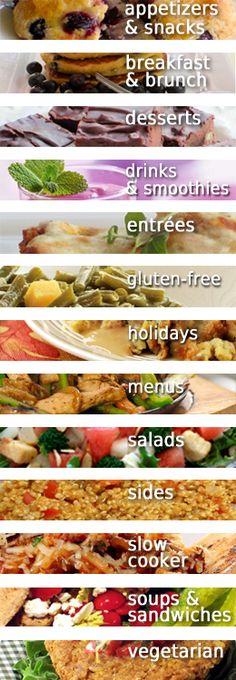 Skinny Recipes! #skinnyms #recipes