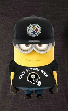 PITTSBURGH STEELERS~Minion Steelers                                                                                                                                                     More