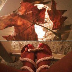 #autumnnotyet #leaf #sandals #handmadesandals #greece #greeksandals…