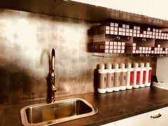Today we present to you our product that was used by WANDWERK GmbH showcasing their versatility and their ability to gel in with any design scheme, The concept, implemented with DM LUXURY Bronze, gives the walls of hairdressing salon an absolutely exquisite look. Together we guarantee to find the perfect style for your next project. Sibu, Design Products, Walls, Bronze, Concept, Luxury, Projects, Home Decor, Style