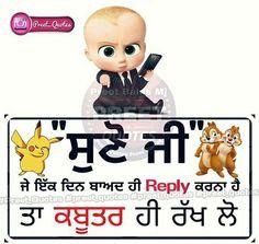 238 Best punjabi wording images in 2017 | Punjabi status, Attitude