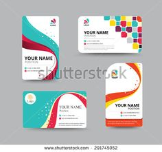 office id card design id badge pinterest card templates