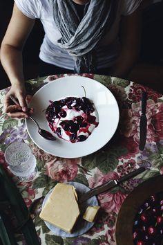 Cherry Yogurt | Suvi sur le vif // Lily