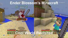 Ender Blossom and Snoggycat Return to Cool World - Minecraft Adventures Mine Minecraft, Pop Culture, This Is Us, Gaming, Community, Explore, Adventure, Cool Stuff, World