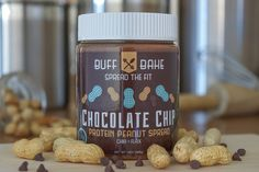 Chocolate Chip Peanut Butter - Buff Bake