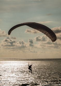 Skydiving in Zambales, Philippines.