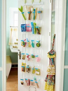 Back of door organizer clever!