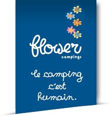 Logo Flowers Camping Chambourlas