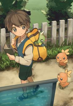 Everyday life with pokemon would be awesome