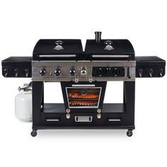 Cooking With Charcoal, Gas And Charcoal Grill, Grilling Sides, Bbq Grill, Pit Boss Smoker, 3 Burner Gas Grill, Grill Stand, Wood Pellet Grills, Must Have Kitchen Gadgets