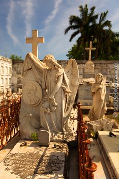 La Reina cemetery. Cienfuegos, Cuba