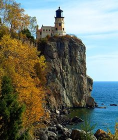 Split Rock Lighthouse, Two Harbors, MN Open to the public from May to October at Split Rock State Park, this lighthouse is one of the most visited in the United States. Although the tower is only 54 feet tall, it can be seen for 22 miles thanks to its location atop a rock jutting out from the north shore of Lake Superior.
