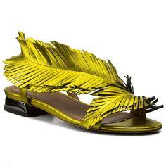 Sandale BALDOWSKI - D01988-3211-002 Ciniglia Żółta