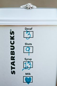 My sister, the coffee addict.