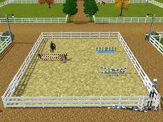 Masters Thoroughbreds Competition Barn houses the farms performance horses that are actively competing on the show circuit. It consists of two L-shaped shed row blocks face a central courtyard on...