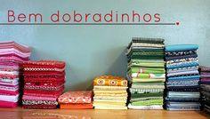 Milonga: Para organizar seu ateliê - tecidos