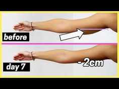 Get rid of flabby arms in one week! MONDAY Simple pulses min) Backwards circles min) Forward circles min) Up and downs min) Pulse pulse up down t. Gym Workout Videos, Gym Workout For Beginners, Fitness Workout For Women, Arm Workouts, Woman Workout, Fitness Wear, Workout Plans, Workout Gear, How To Get Slim