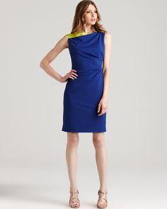 Olympia Color Block Dress