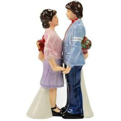 Happy Days Joanie And Chachi Salt And Pepper Shakers