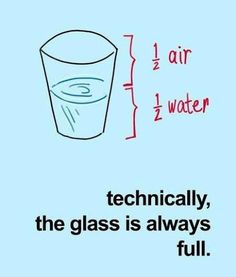 An engineer's point of view and, in this case, one I should imbibe.