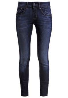 LYNN MID SKINNY  - Slim fit jeans - slander blue superst