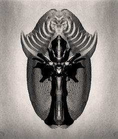 Mask #1 photocollage 1994