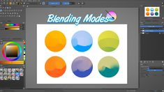 Krita tutorial: Understanding Krita's blending modes