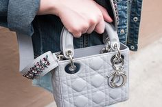 Latest Obsession: Dior's Mini Lady Dior Bag and Embellished Strap ...