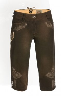 Traditional german leather short Nina bog