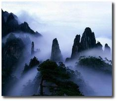 """Mount Wutai, also known as Wutai Mountain or Qingliang Shan, is located in northeastern Shanxi province, China. The mountain is home to many of China's most important monasteries and temples. Wu Tai Shan means """"Mountain of the 5 Summits."""""""