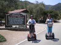 CATALINA SEGWAY TOUR Tour the City of Avalon on your own Segway! This one and a half hour tour offers you a great way to see and learn about Avalon. Your tour guide will explain the history and lore of our quaint town