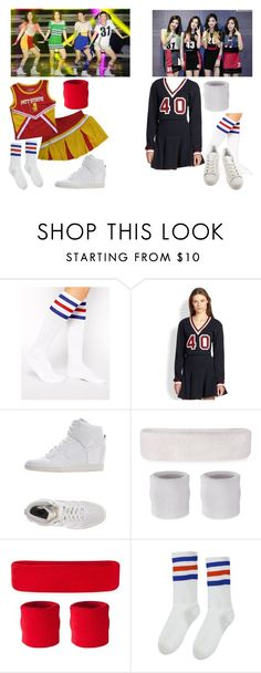 """""""Red Velvet - Happiness"""" by snsdkawaii ❤ liked on Polyvore featuring American Apparel, Elizabeth and James, NIKE, Colosseum and adidas"""
