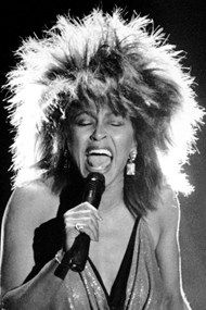 Tina Turner - love her and her hair
