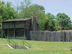 Old Fort Harrod State Park - Harrodsburg, KY