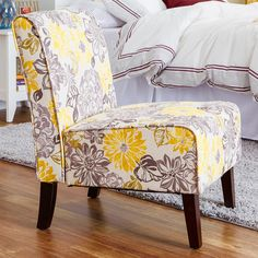 Elegant Found It At Wayfair   Eugenia Floral Side Chair