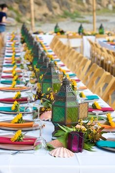Bright Indian table setting for the perfect Hundred-Foot Journey ...