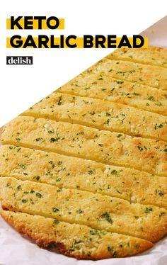 Keto Followers! This Low-Carb Garlic Bread Is LEGITDelish