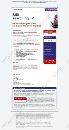car insurance email templates  21 best Email Design: Insurance images on Pinterest | Email design ...