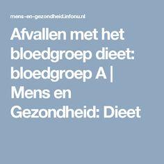 Dating volgens bloedgroep
