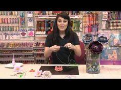 How to Create Craft Flowers and Jewelry with DMC Memory Thread | www.DMC-USA.com - YouTube