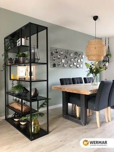 32 Exclusive and Personalized Dining Room Interior Design Living Room Modern, Home Living Room, Interior Design Living Room, Living Room Designs, Small Living, Color Interior, Design Bedroom, Apartment Living, Bedroom Decor