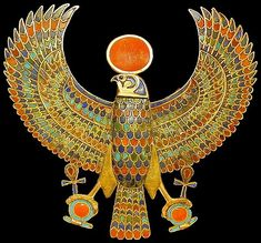 Falcon Ornament from King Tut's Tomb
