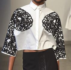 patternprints journal: PRINTS, PATTERNS AND SURFACES FROM NEW YORK FASHION WEEK (WOMAN COLLECTIONS SPRING/SUMMER 2015) / Kye