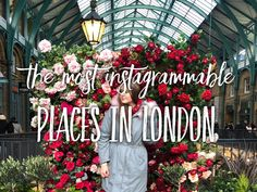 This time I will show you the most Instagrammable places in London, the most beautiful and photogenic city on Earth. The guide is composed by @lizatripsget