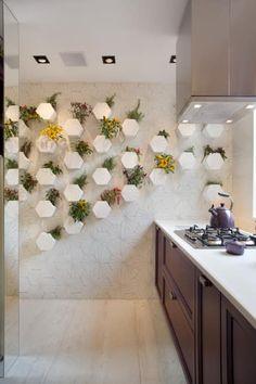 Sala e Jantar e Cozinha Casa Cor 2015: Cozinhas ecléticas por Estúdio Barino   Interiores
