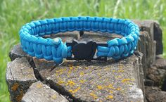 Solid Color Break Away Cat Collars with Kitty Clasp 550 Paracord by BrodsParacord on Etsy