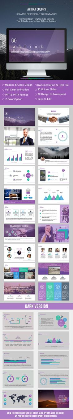 Artika Colors Presentation Template #powerpoint #powerpointtemplate Download: http://graphicriver.net/item/artika-colors-presentation/9016906?ref=ksioks